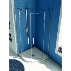 TONIC Sprchovací kút -  štvrťkruh