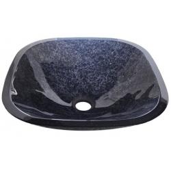Sapho MAGIC sklenené umývadlo štvorcové 42x42cm