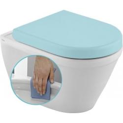 Sapho CLAUDIA WC závesné 35,5x52cm, RIMLESS
