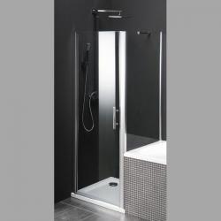 Gelco ONE sprchová zástena oddelujúca vaňu a sprchový, 800x800mm, číre sklo