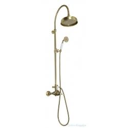 SAPHO ANTEA sprchový stĺp s termostatickou batériou, bronz