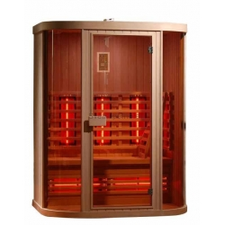 Sanotechnik Safir infračervená sauna pre 3 osoby