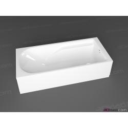 KOLO Comfort Plus pravouhlá vaňa 170 x 75 cm, bez madiel