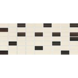 OPOCZNO ORGANZA Mosaica Mix 20X50 cm Beige Brown
