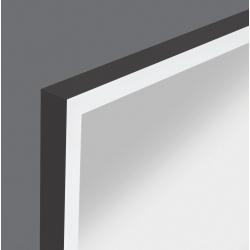 Zrkadlo RAMA 4000 K, IP 20 50x100 čierny rám mat