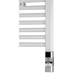Elektrická vykurovacia tyč s termostatom a diaľkovým ovládaním,300W,D-tvar,chróm