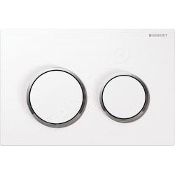 GEBERIT ovládacie tlačidlo OMEGA20 kód 115.085.KJ.1 biela/chrom/biela