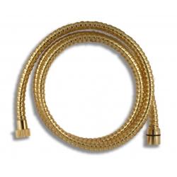 Sprchová hadica plastová 150 cm zlato