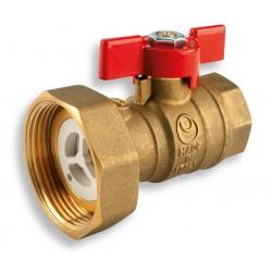 """Guľový ventil 1"""" s polšróbením k čerpadlu 6/4"""""""