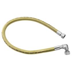 """Plynová pripojovacia hadica s kolienkom 1/2"""" MM-1,25m"""