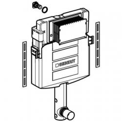 GEBERIT KOMBIFIX splachovacia podomietková nádržka UP320, montážna výška 108cm, kód 109.300.00.5